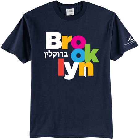HLA Brooklyn T-Shirt Navy 450x450