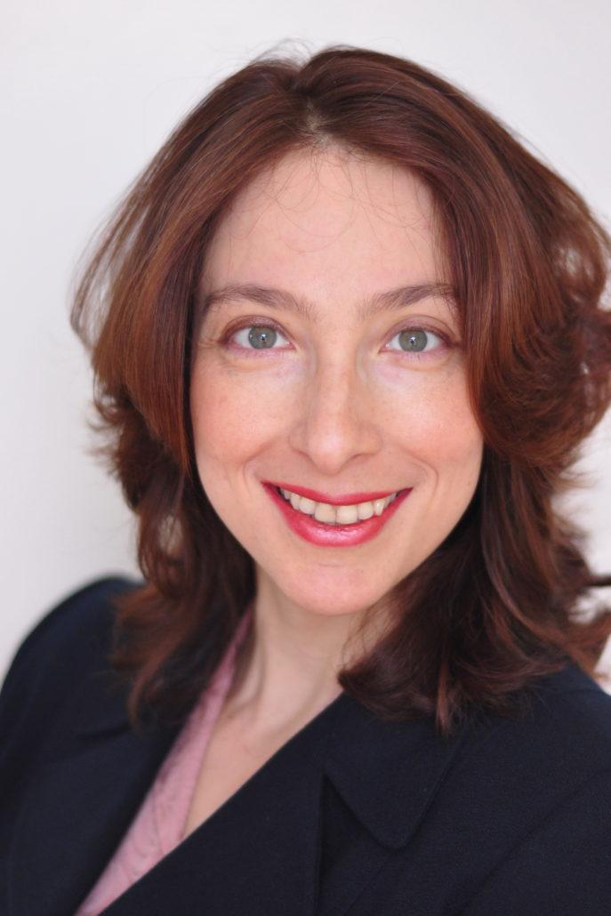 Olga Gilburd, author and Hebrew Language Academy parent